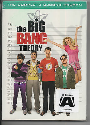 The Big Bang Theory - The Complete Second Season (DVD, 2009, 4-Disc Set) - NEW
