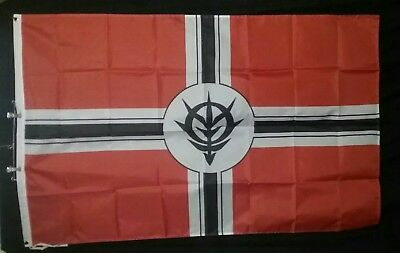Principality of Zeon Mobile Suit Gundam 3'x5' Flag Char Aznable Unicorn Banner