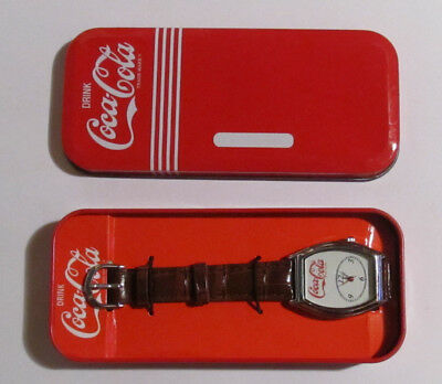 New Collector Coca Cola ™ Wrist Watch in a case