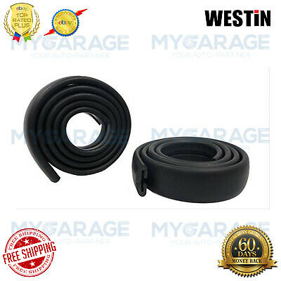 Westin For Sportsman Black Grille Guard Rubber Strip Replacement - 40-1004