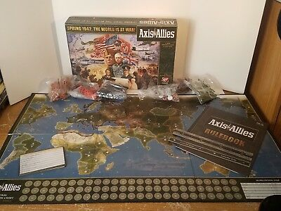 AVALON HILL AXIS & Allies Strategy War Board Game Spring