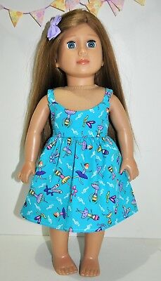 "American Girl Dolls  Our Generation Dolls Gotz 18"" Doll Clothes Party Dress"