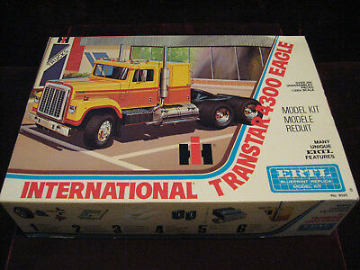 MIB 1st Issue 77 VTG International Trans 4300 Eagle Truck Tractor Model/Kit ERTL