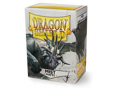 Mist Matte 100 ct Dragon Shield Sleeves Standard Size FREE SHIPPING! 5% OFF 2+