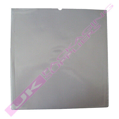 """5 STRONG 160Mu CLEAR PVC SLEEVES COVERS FOR LARGE 12"""" LP RECORD VINYL 326x326"""