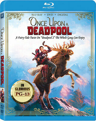 Deadpool 2 - Once Upon A Deadpool (1900, Blu-ray NEW)