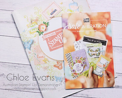 NEW Stampin' Up! Occasion and Sale-a-Bration Catalogue