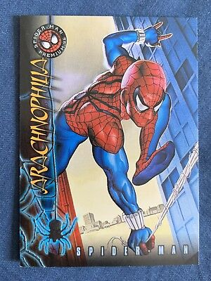 Marvel Spider-Man Premium '96 Fleer Skybox Card #4