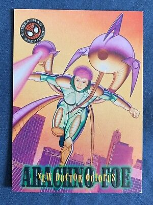 Marvel Spider-Man Premium '96 Fleer Skybox Card #11 New Doctor Octopus