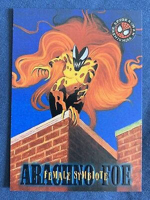Marvel Spider-Man Premium '96 Fleer Skybox Card #13 Female Symbiote