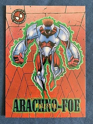 Marvel Spider-Man Premium '96 Fleer Skybox Card #21 Polestar