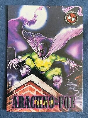 Marvel Spider-Man Premium '96 Fleer Skybox Card #22 Prowler