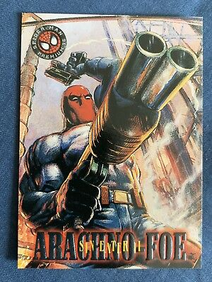 Marvel Spider-Man Premium '96 Fleer Skybox Card #28 Sin Eater 2