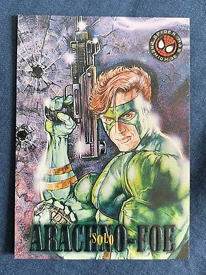 Marvel Spider-Man Premium '96 Fleer Skybox Card #29 Solo