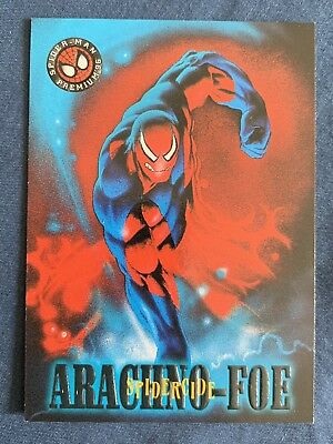 Marvel Spider-Man Premium '96 Fleer Skybox Card #31 Spidercide