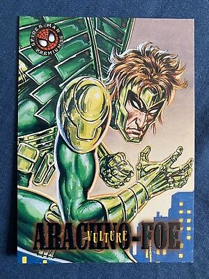 Marvel Spider-Man Premium '96 Fleer Skybox Card #36 Vulture