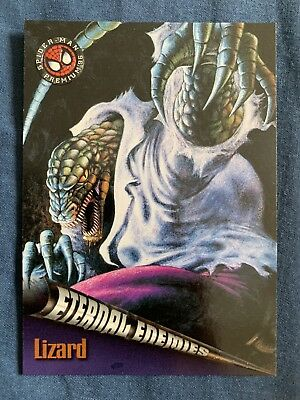 Spider-Man Premium '96 Fleer Skybox Eternal Enemies Card #68 Lizard
