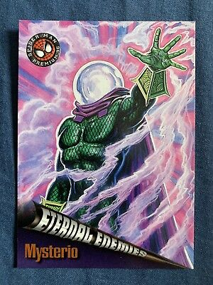 Spider-Man Premium '96 Fleer Skybox Eternal Enemies Card #70 Mysterio