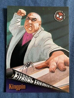 Spider-Man Premium '96 Fleer Skybox Eternal Enemies Card #72 Kingpin