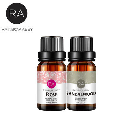 Rose Sandalwood Therapeutic Natural Pure Essential Oil For Diffuser Aromatherapy
