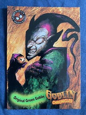 Spider-Man Premium '96 Fleer Skybox Goblin Chronicles Card #82