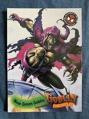 Spider-Man Premium '96 Fleer Skybox Goblin Chronicles Card #87