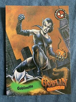 Spider-Man Premium '96 Fleer Skybox Goblin Chronicles Card #88