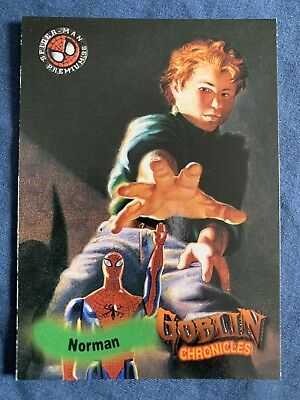 Spider-Man Premium '96 Fleer Skybox Goblin Chronicles Card #90