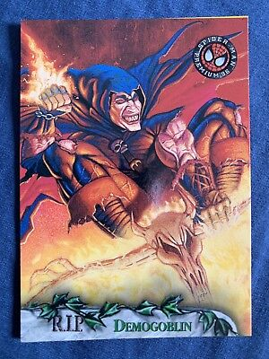 Spider-Man Premium '96 Fleer Skybox R.I.P. Card #92 Demogoblin