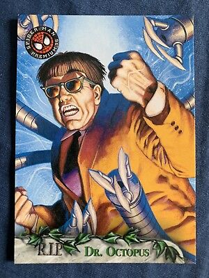 Spider-Man Premium '96 Fleer Skybox R.I.P. Card #93 Dr. Octopus
