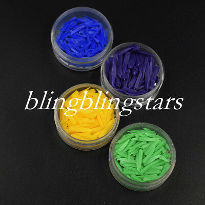 Dental Disposable Diastema Wedges Plastic Poly Wedges 4 Choices 4 Colors/Sizes