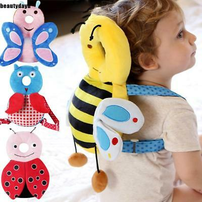 Baby Adjustable Strap Anti Fall Pillow for Learning Walk Sitting Head BD6D