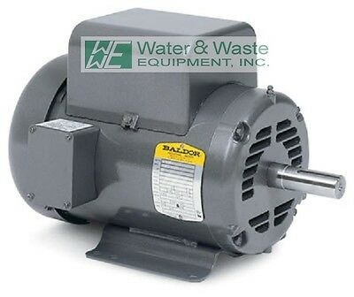 L1430T 5HP, 1725 RPM NEW BALDOR AIR COMPRESSOR ELECTRIC MOTOR open box full warr