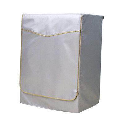Washing Machine Cover Dust Proof Water Resistant Protector Gold Zip M