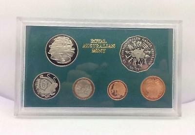 1982 Australian XII Commonwealth Games Bris Proof Coin Set Uncirculated #40148