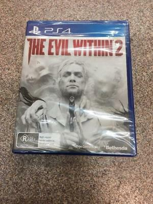 The Evil Within 2 PS4 (Playstation 4) Game Brand New & Sealed #45391