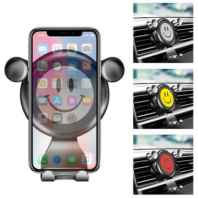 Gravity Car Air Vent Mount Cradle Holder Stand for iPhone Mobile Cell Phone GPS.