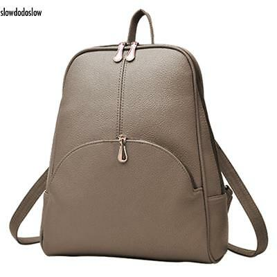 New Women Backpack Synthetic Leather Backpacks Softback Bags Preppy SDDS