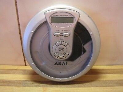 AKAI Discman Portable CD Player, With Warranty, Working Perfectly, GC