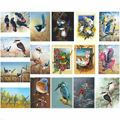 Bird Animal Full Drill 5D DIY Diamond Painting Cross Stitch Embroidery+Tool BO