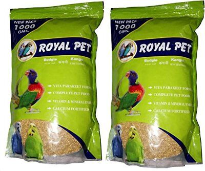 JAINSONS PET PRODUCTS Royal Budgie Foxtail Millet, 1000 g -Pack of 2