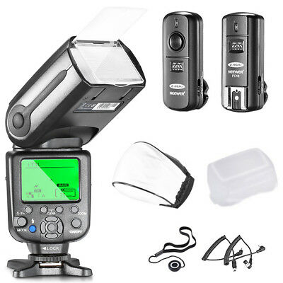 Neewer® NW565EX Professional I-TTL Slave Flash Speedlite Kit for Nikon DSLR