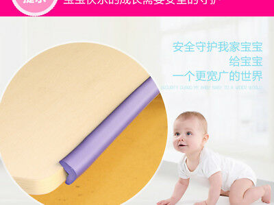 Baby Table Corner Guard Softener Strip Safety Edge Cushion Pad Protector Bumper