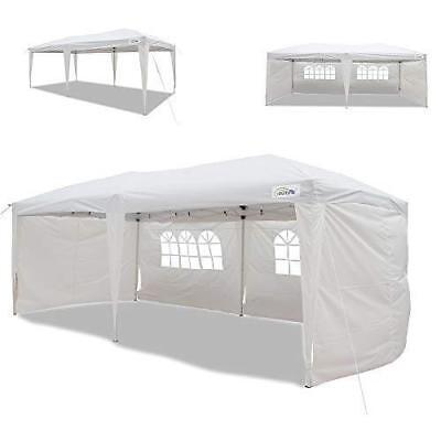 Goutime foldable10x20 ft Party Canopy Tent,Instant Wedding Gazebo Garden...