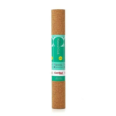 Con-Tact Brand 18-Inch by 4-Feet Self-Adhesive Shelf Liner, Natural Cork