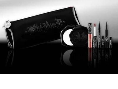 KAT Von D MAKEUP BAG COMPACT MIRROR TATTOO LINER INK LINER LOLITA LIPSTICK New