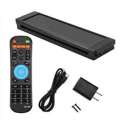 LED Display Programmable Interval Timer Wall Clock+Remote for Fitness Training M