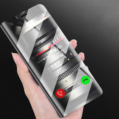 Luxus Flip View Stand Coque Cover Pr Huawei P20 Mate 20 Pro lite Smart Housse