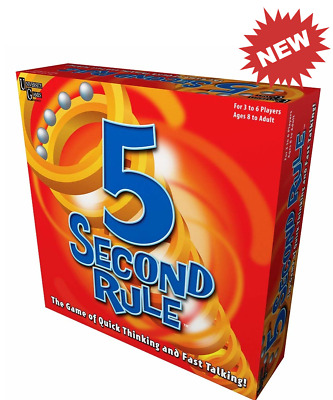 University Games 5 Second Rule the Game of Quick Thinking and Fast Talking NEW