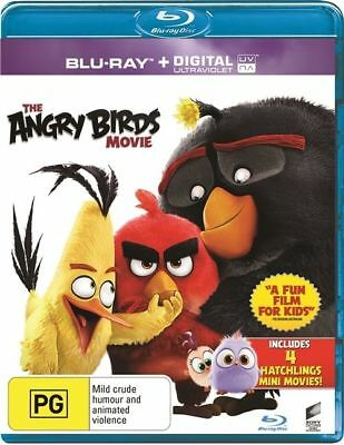 The Angry Birds Movie (Blu-ray, 2016) NEW
